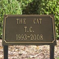Pet lawn marker 3 line