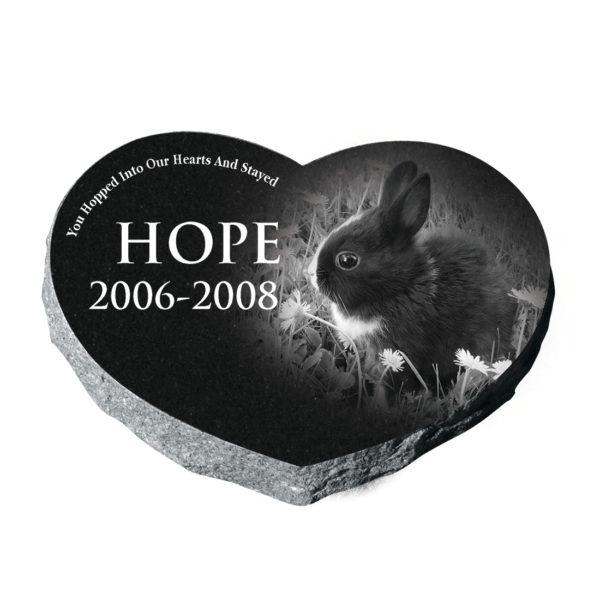 Pet heart memorial