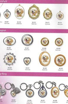pet keepsakes pendants magnents key rings